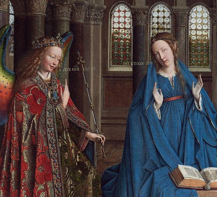 The annunciation van eyck