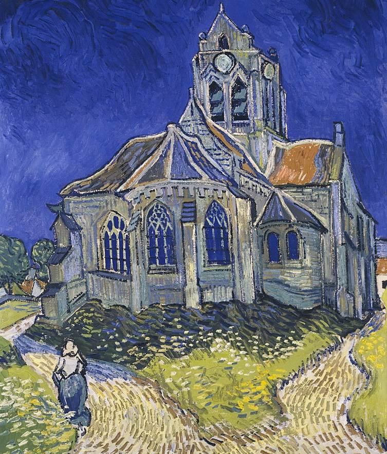 The church at auvers van gogh