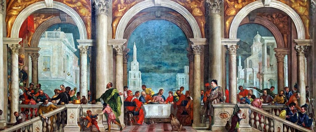 The feast in the house of Levi Veronese
