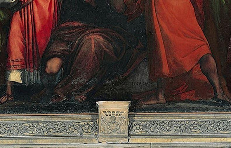 assumption of the virgin stone sarcophagus
