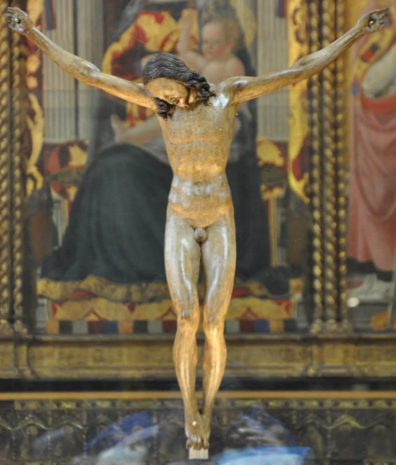 Bargello Crucifix detail