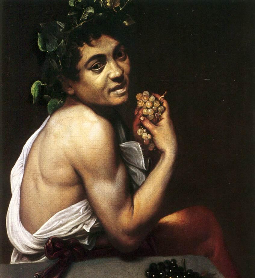 Caravaggio self portrait 1593