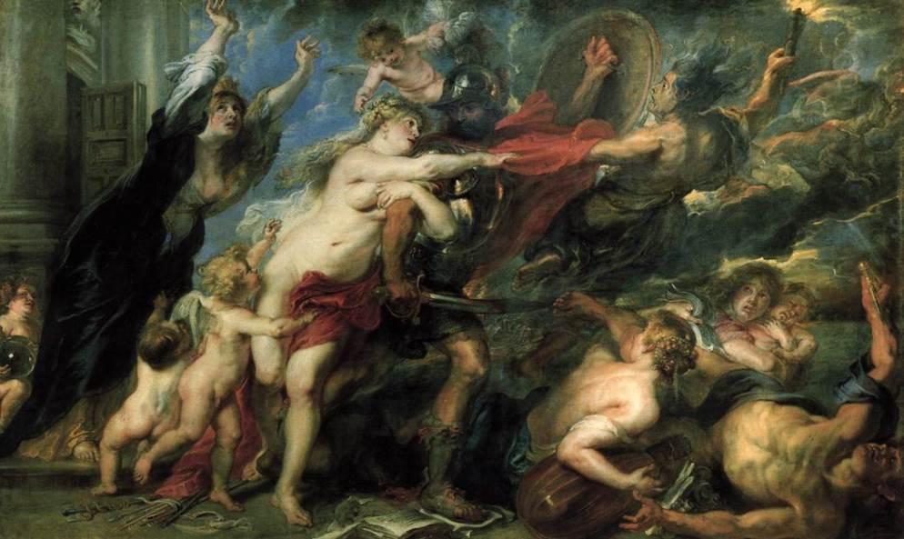 Consequences of War Peter Paul Rubens