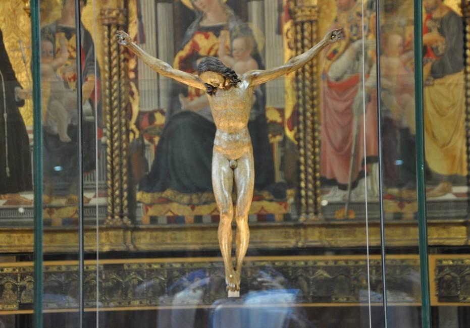 Crucifix Michelangelo Bargello