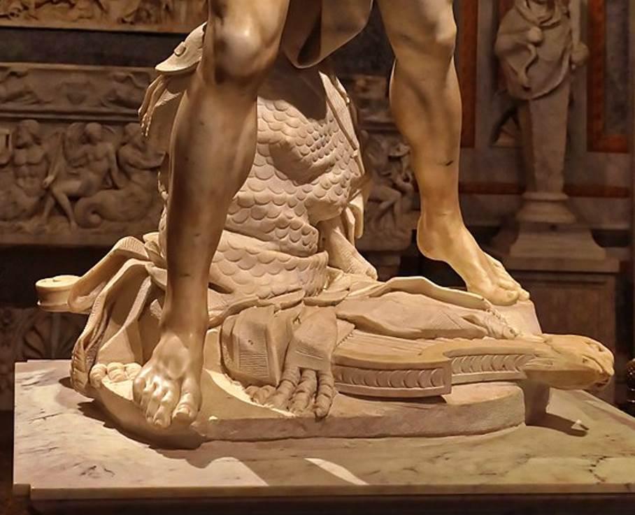 David Bernini harp and armor