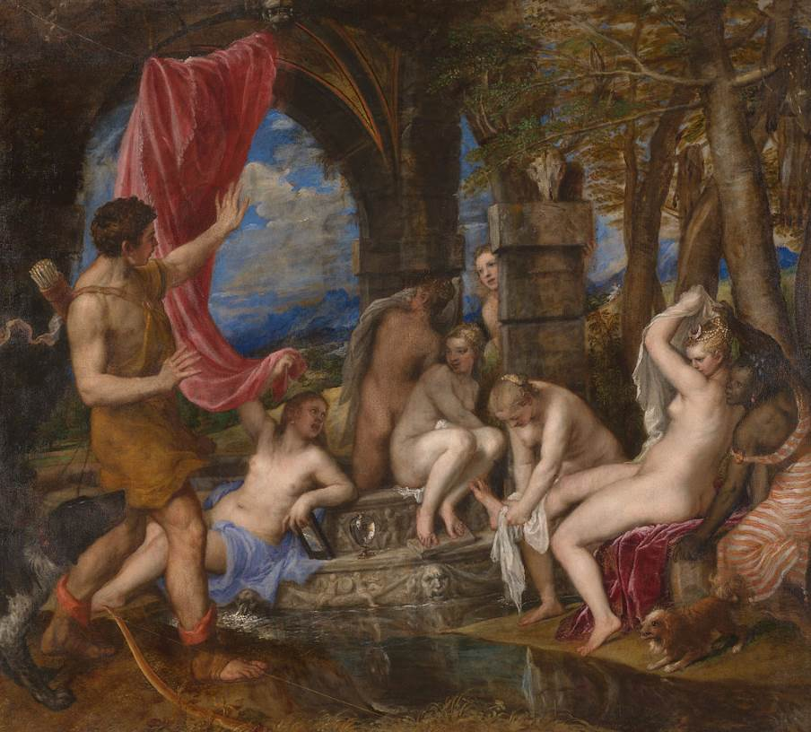 Diana and Actaeon Titian
