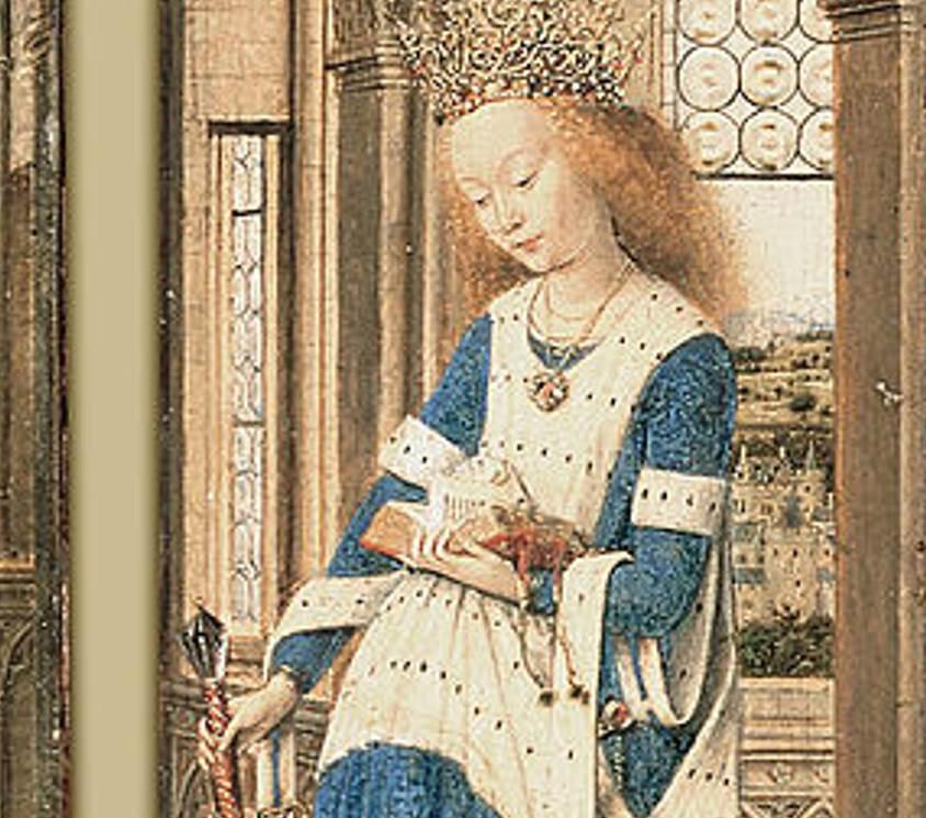Dresden Triptych Saint Catherine