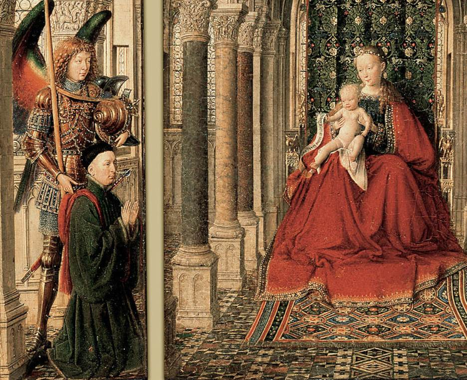 Dresden triptych left section