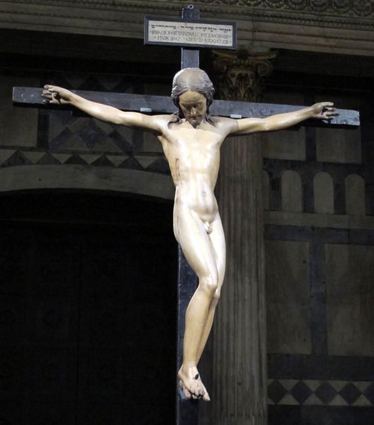 Michelangelo crucifix facts
