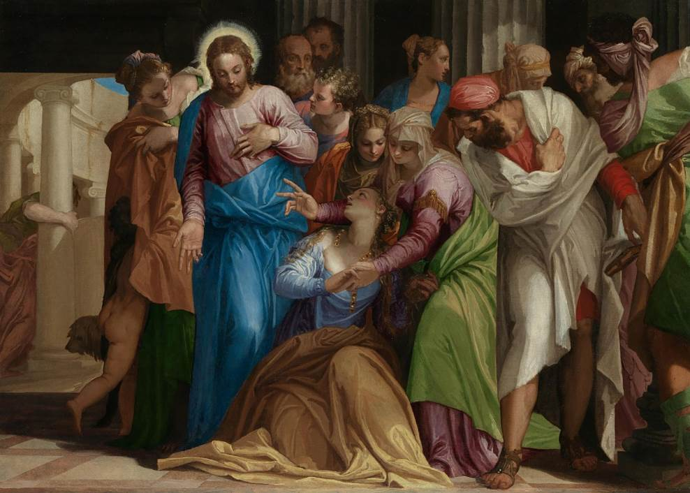 The Conversion of Mary Magdalene Paolo Veronese
