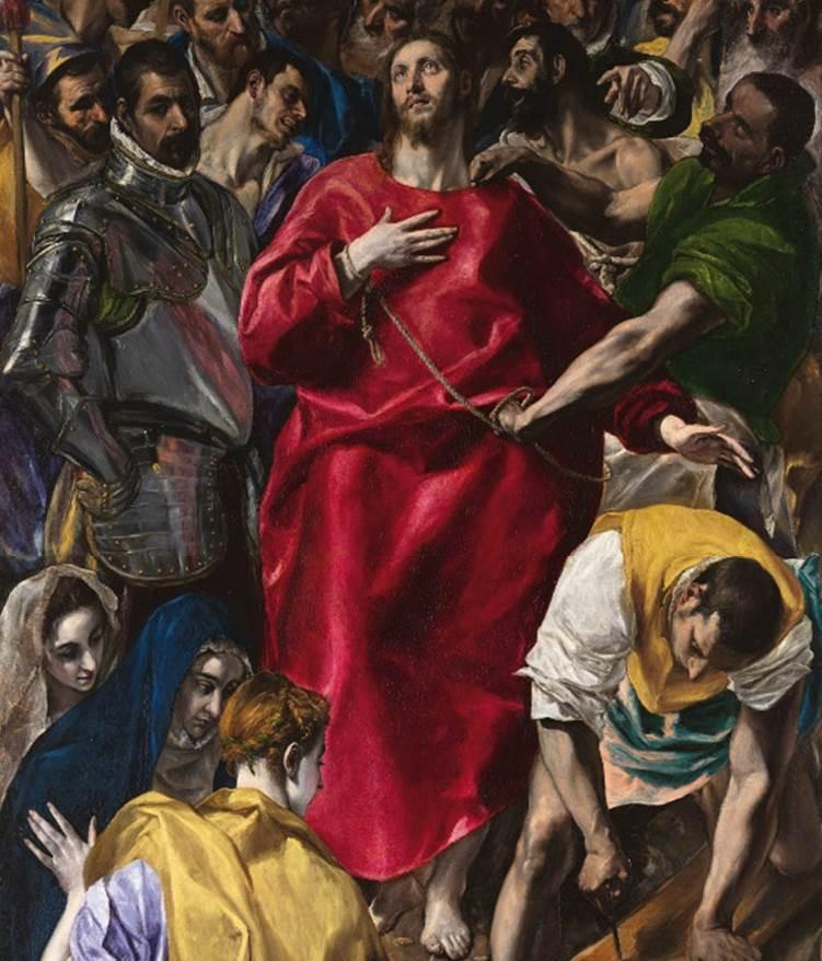 The Disrobing of Christ El Greco
