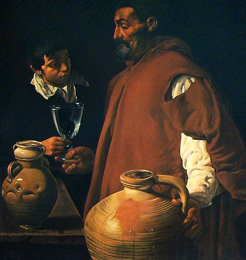 The Waterseller of Seville Baltimore version
