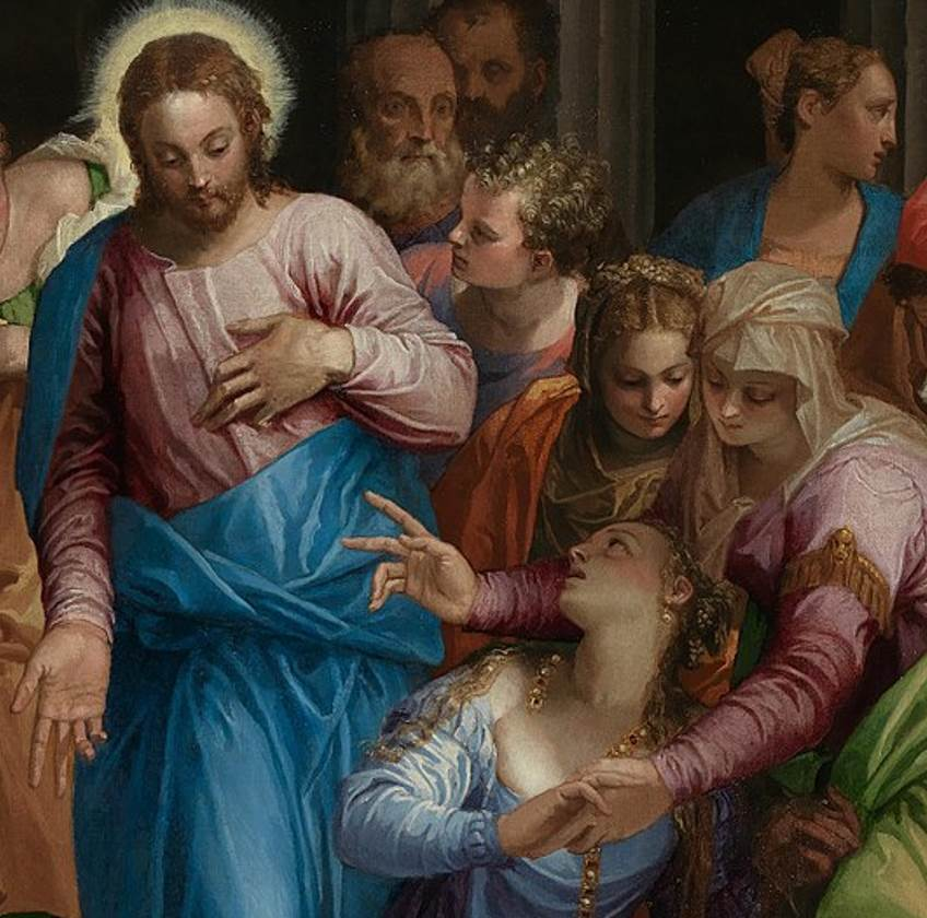 The conversion of Mary Magdalene mary and jesus