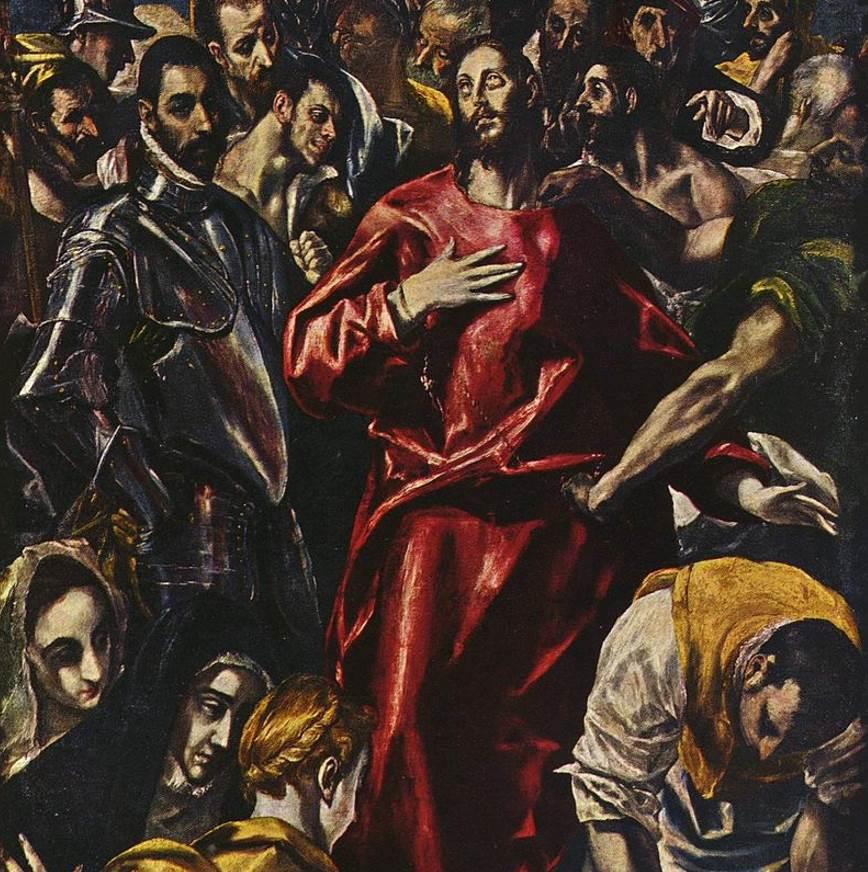 The disrobing of Christ sketch in Munich