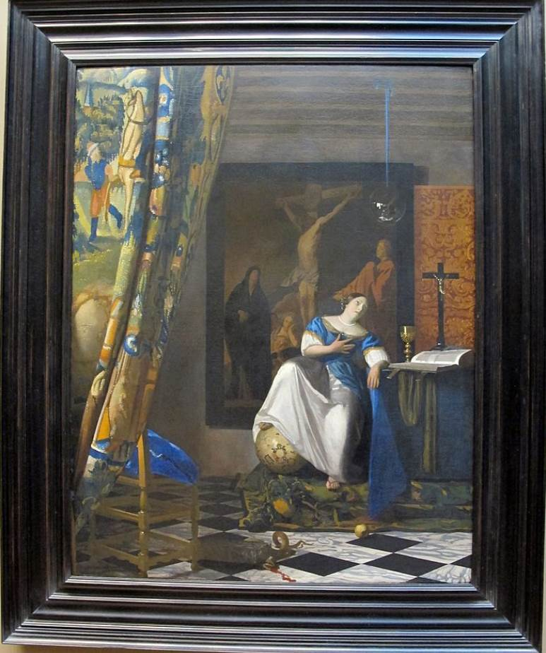 Allegory of Faith Vermeer facts