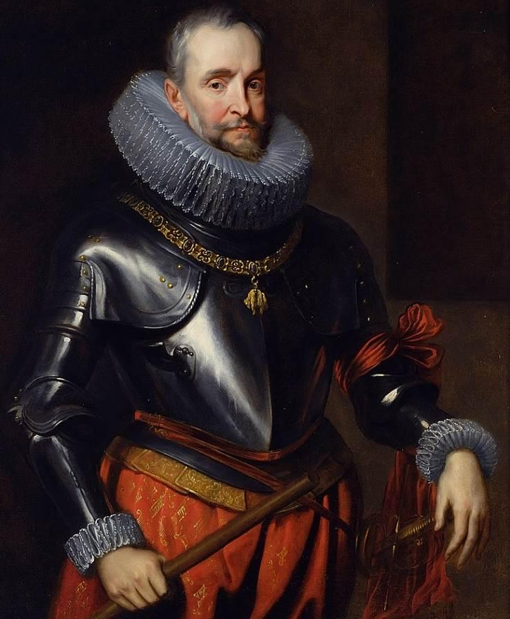 Portrait of Ambrogio Spinola by Anthony van Dyck