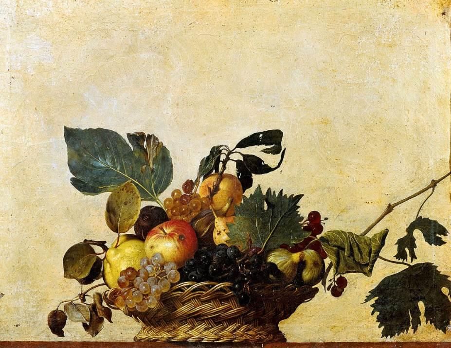 Basket of Fruit Caravaggio