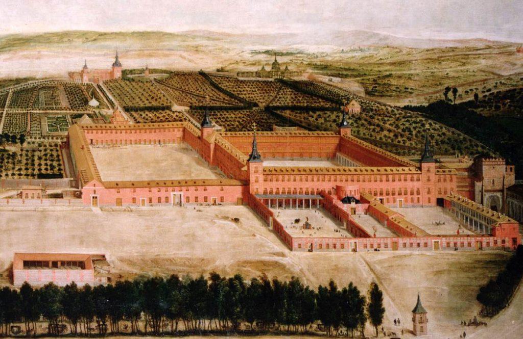 Buen retiro palace madrid