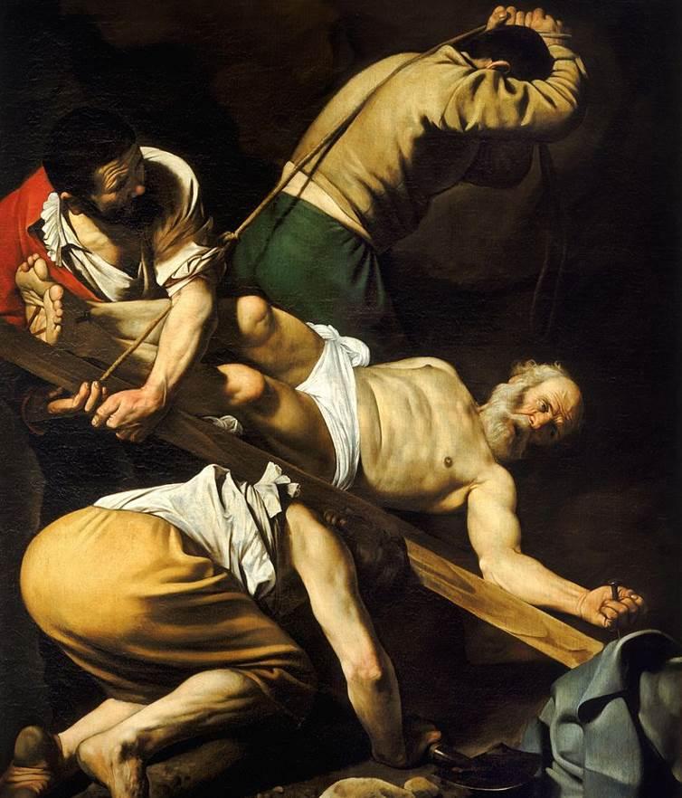 Crucifixion of Saint Peter Caravaggio