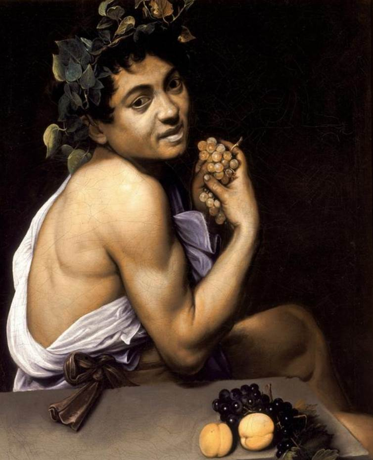 Famous Caravaggio paintings Young Sick Bacchus