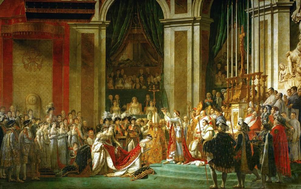 Jacques-Louis David - The Coronation of Napoleon