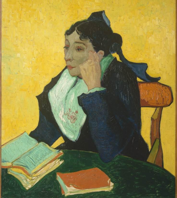 L'Arlésienne by Vincent van Gogh