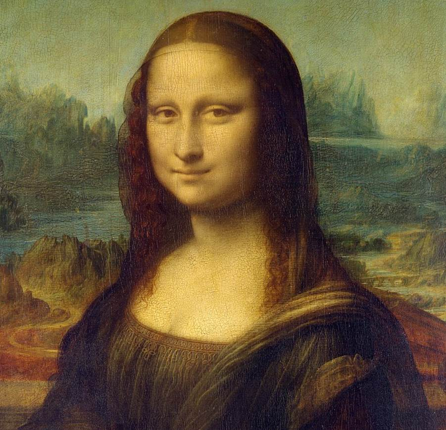 Most famous paintings at the Louvre Mona Lisa