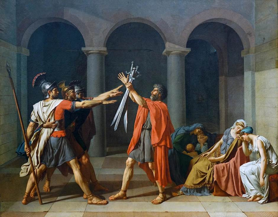 Oath of the Horatii - Jacques-Louis David