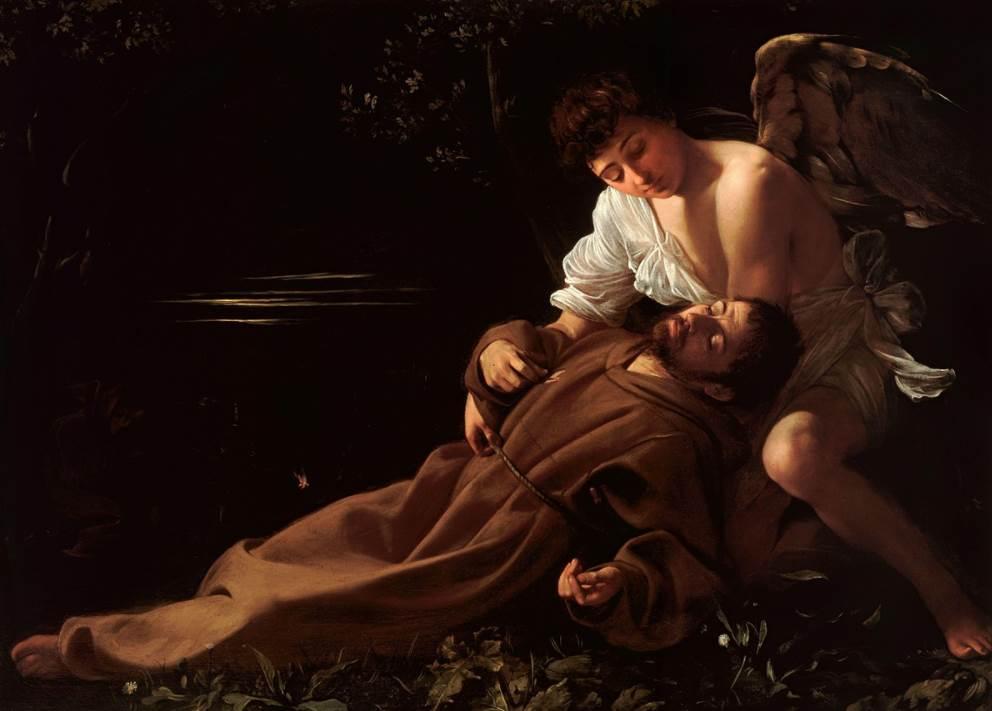 Saint Francis of Assisi in Ecstasy Caravaggio