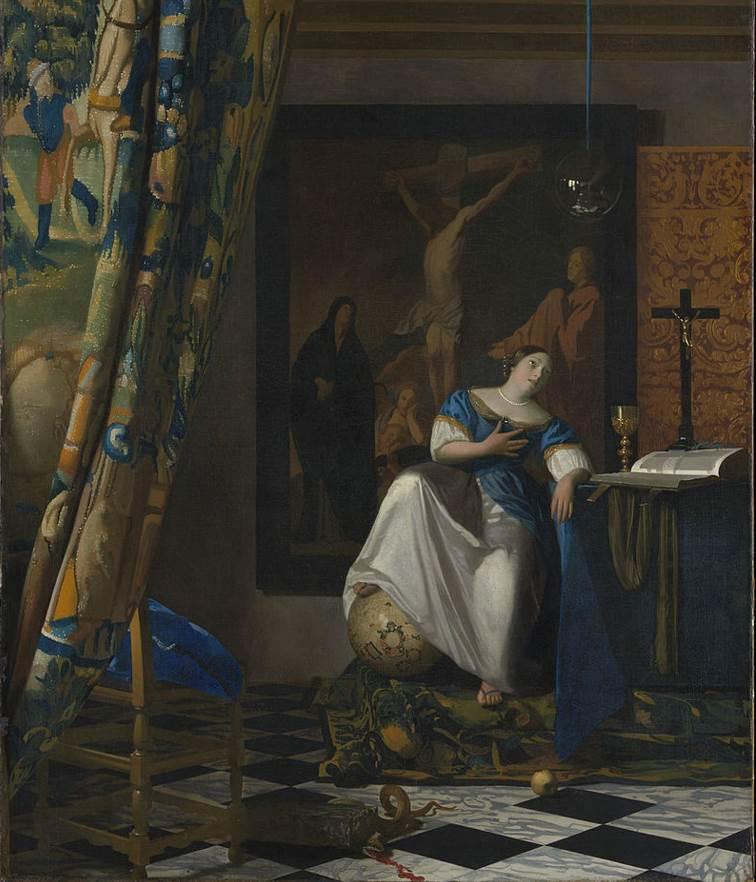 The Allegory of Faith Vermeer