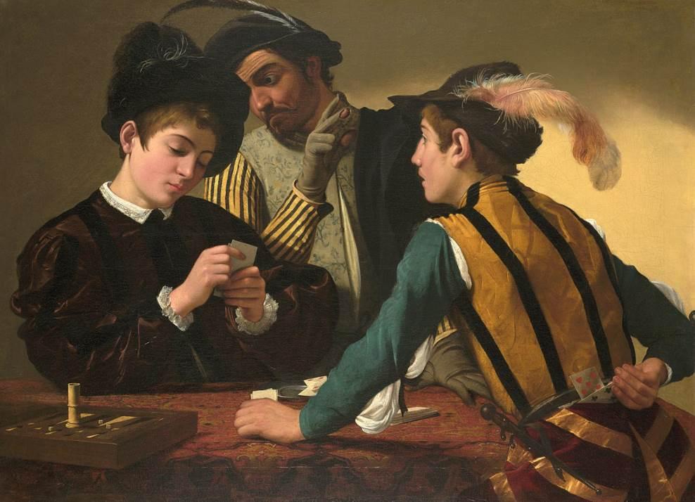The Cardsharps Caravaggio