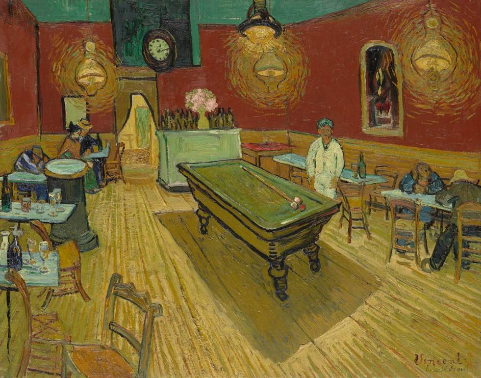 The Night Cafe vincent van gogh