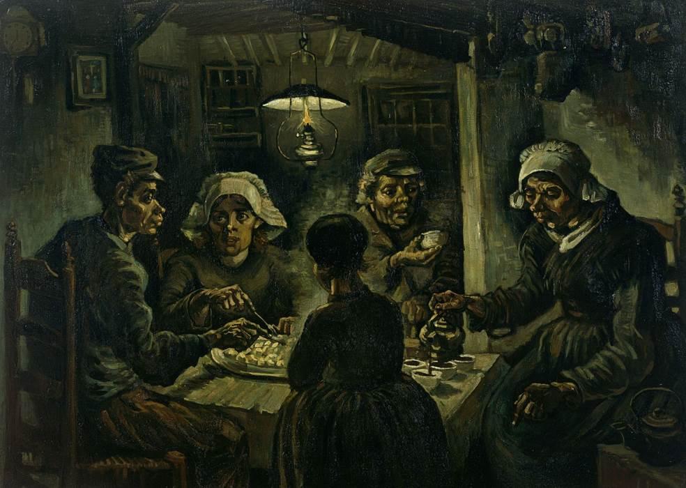 The Potato Eaters van Gogh