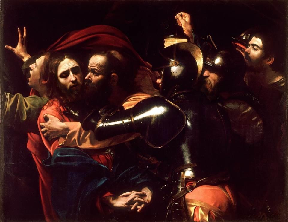 The Taking of Christ Caravaggio