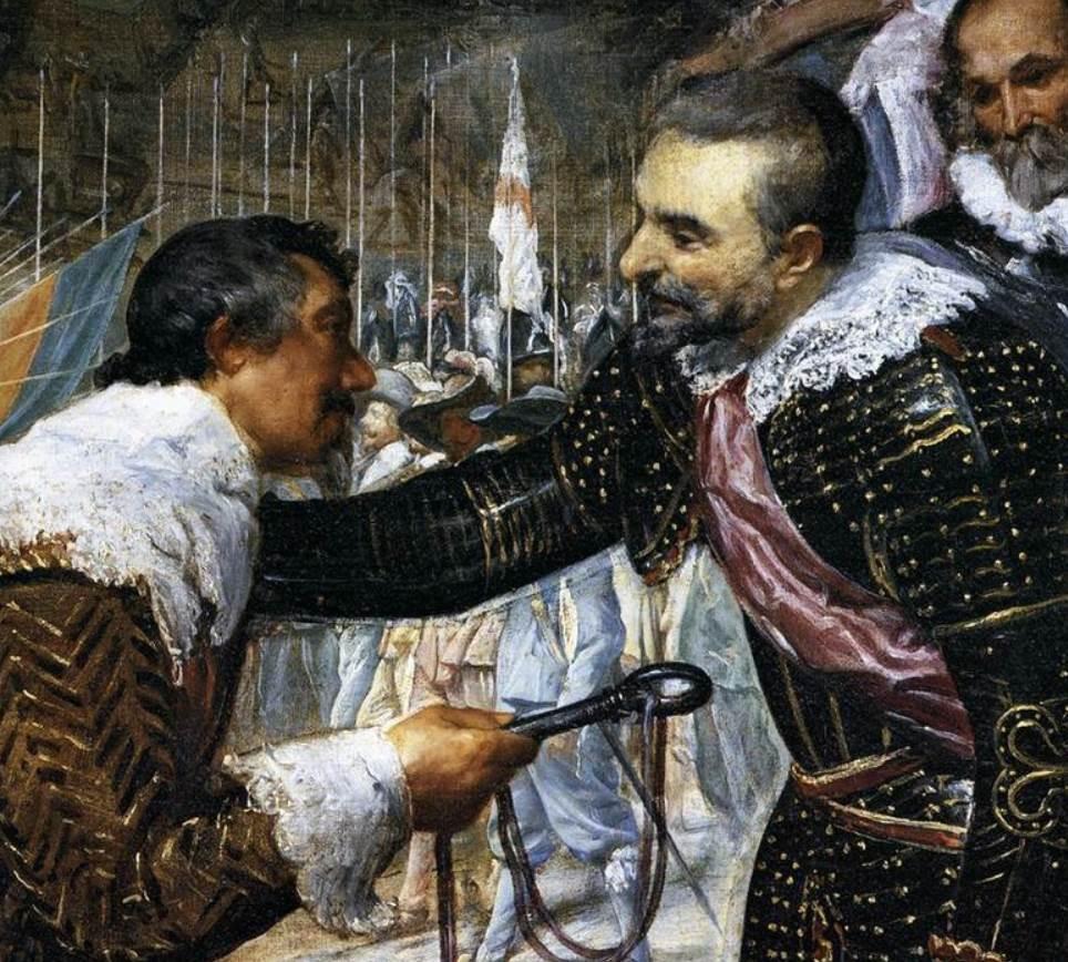 The surrender of Breda van Nassau and spinola